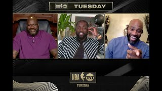 Vince Carter Joins the Tuesday Crew  | NBA on TNT Tuesday