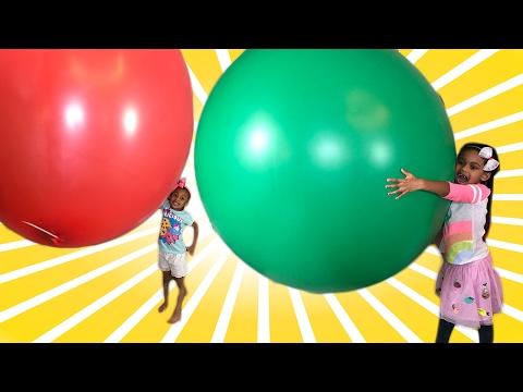 Giant Balloon Challenge !