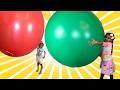 Giant Balloon game !
