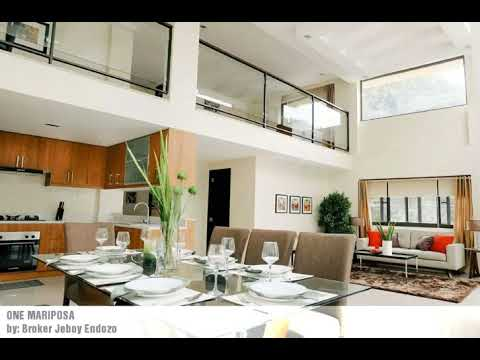ONE MARIPOSA Brand New Townhouse with Elevator @ Quezon City