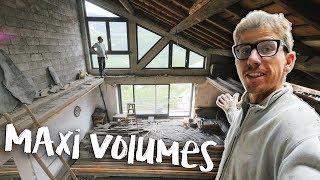 PIÈCES GRAND VOLUME - Passion Rénovation Ep12 - construction maison travaux