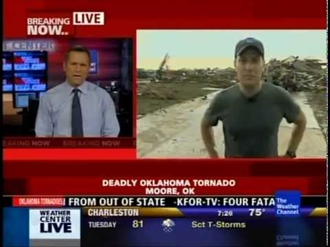 Moore Oklahoma Torando - Mike Bettes First Report