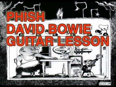 PHISH - David Bowie - Guitar Lesson part 1