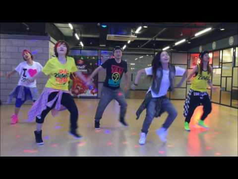 Zumba Wisin-Vacaciones(Cover Audio)-Zumba Choreography by ShinDong