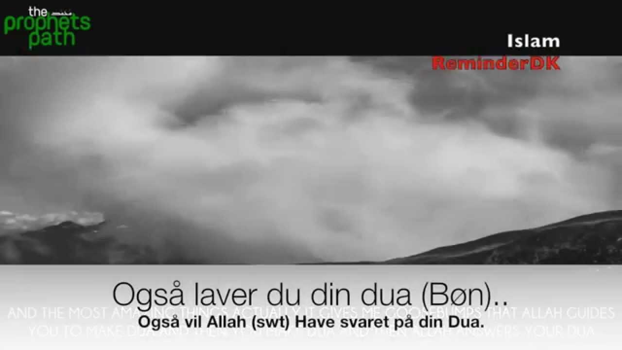 dua islam dansk