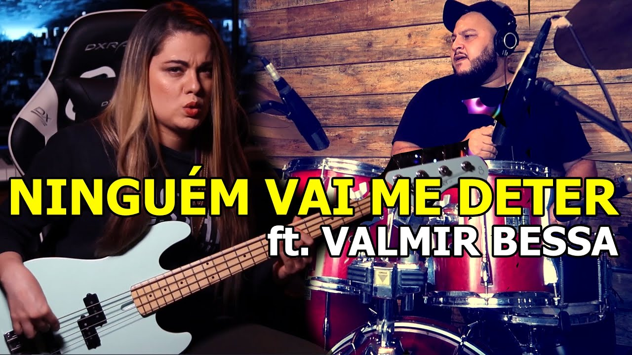 NINGUÉM VAI ME DETER - Giane Rangel feat. @Valmir Bessa
