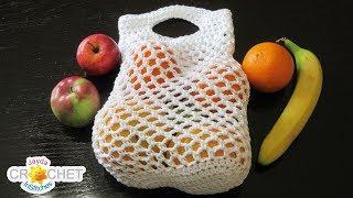 Fruit & Vegetable Mesh Shopping Bag - Produce Market Bag