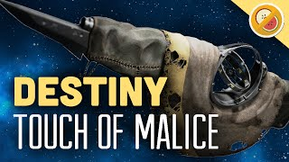 DESTINY Touch of Malice Fully Upgraded Exotic Scout Rifle Review (The Taken King Exotic)