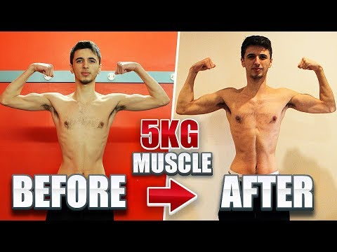 Part 2 - TheBurntChip Diet! GAIN MUSCLE - Ultimate 8 Week Transformation
