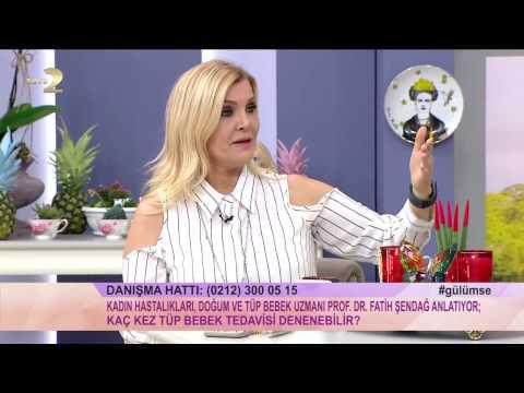 16 03 2017  Derya Baykal'la Gülümse Programı Prof Dr Fatih Şendağ 1. Bölüm