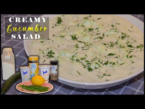 cucumber-salad-with-dill-(creamy-and-easy)-|-gurkensalat-mit-dill-(cremig-und-einfach)-|-super-marie