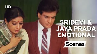 Sridevi & Jitendra Scarifies His Son For Jaya Prada - Aulad Emotional Scenes - Bollywood Scene