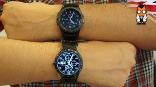 Samsung Gear S3 Frontier vs TAG Heuer Connected: Smartwatch Battle