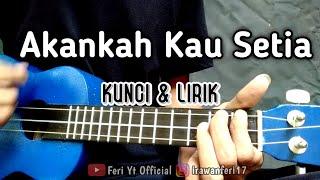 Download lagu D'Cozt - Akankah Kau Setia (Kunci & Lirik) cover kentrung ukulele by Feri Yt Official