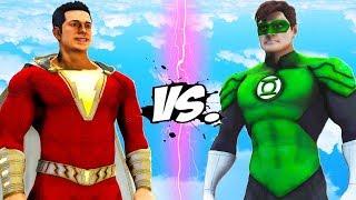 GREEN LANTERN VS SHAZAM! - EPIC BATTLE