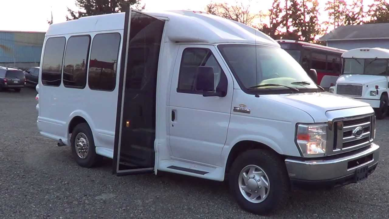 Northwest Bus Sales - 2008 Ford Turtle Top Van Terra 9 ...