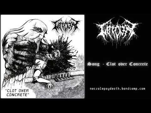 Necrolepsy - Clot Over Concrete (2020)