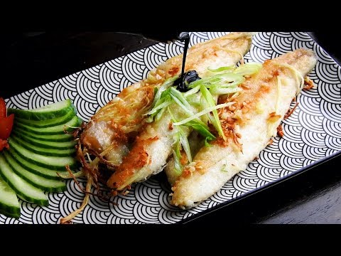 Pan Fried Fish Recipe - Pan Fried Fish Chinese Style 煎魚,外皮酥,魚肉嫩,秘訣在這裡!