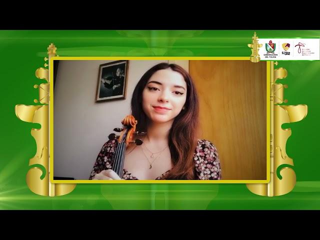 #ConcursodeViolin | Ana Karina Rodríguez, finalista del III Concurso Internacional de Violín