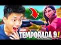 DESTRUÍ COM A NOVA ESPINGARDA DE COMBATE DA TEMPORADA 9!! FORTNITE: BATTLE ROYALE