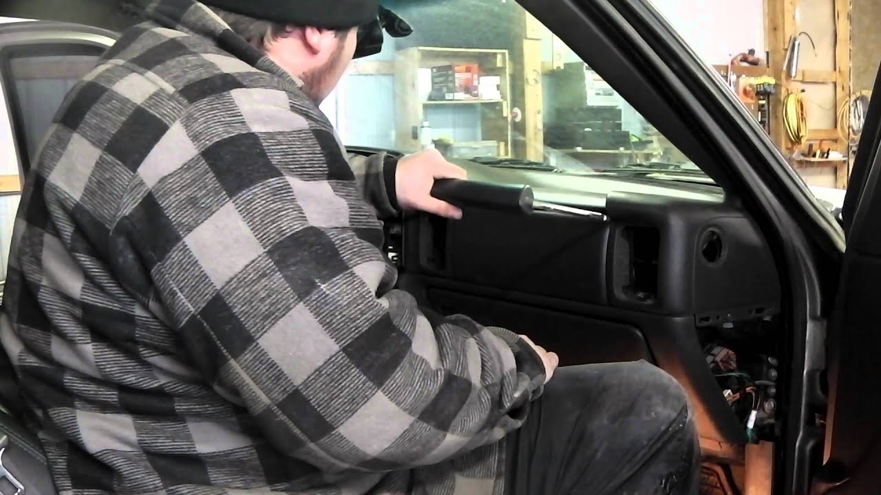 HOW TO: 2003 Chevy Silverado dash install part 2 - YouTube