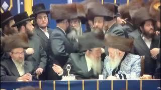 Bobover Rebbe At A Wedding
