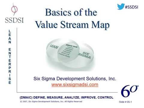 Basics of the Value Stream Map (VSM) Webinar (Pre-Recorded)