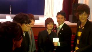 "Japanese A Capella band INSPi gave a concert in Uzbekistan at the ""..."