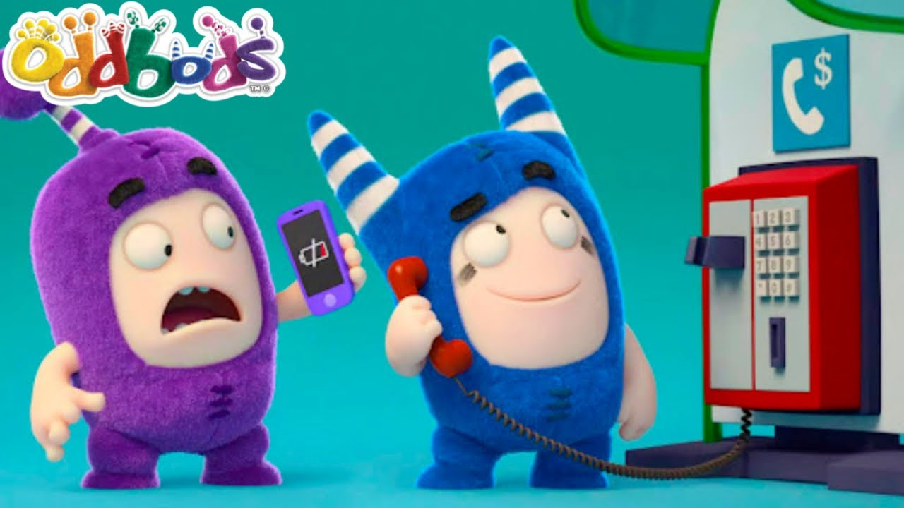 When There's No Mobile Phone, Use A Payphone   New Funny Cartoon   ODDBODS