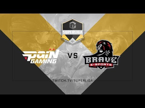 Superliga ABCDE League of Legends - Semana 2 - Pain vs. Brave - MD2