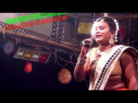 Beautyful singer Kalpana Hansda SPECIAL new song  2018 song Santali Folk Song.. 01-01-2018..Part 002