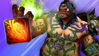 Warlock SLAMS With Big Chaos Bolts! (5v5 1v1 Duels) - PvP WoW: Battle For Azeroth 8.1