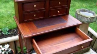 Mahogany Writing Desk Now Sold