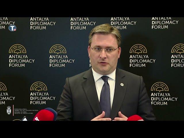 Селаковић: Србија посвећена миру и стабилност региона