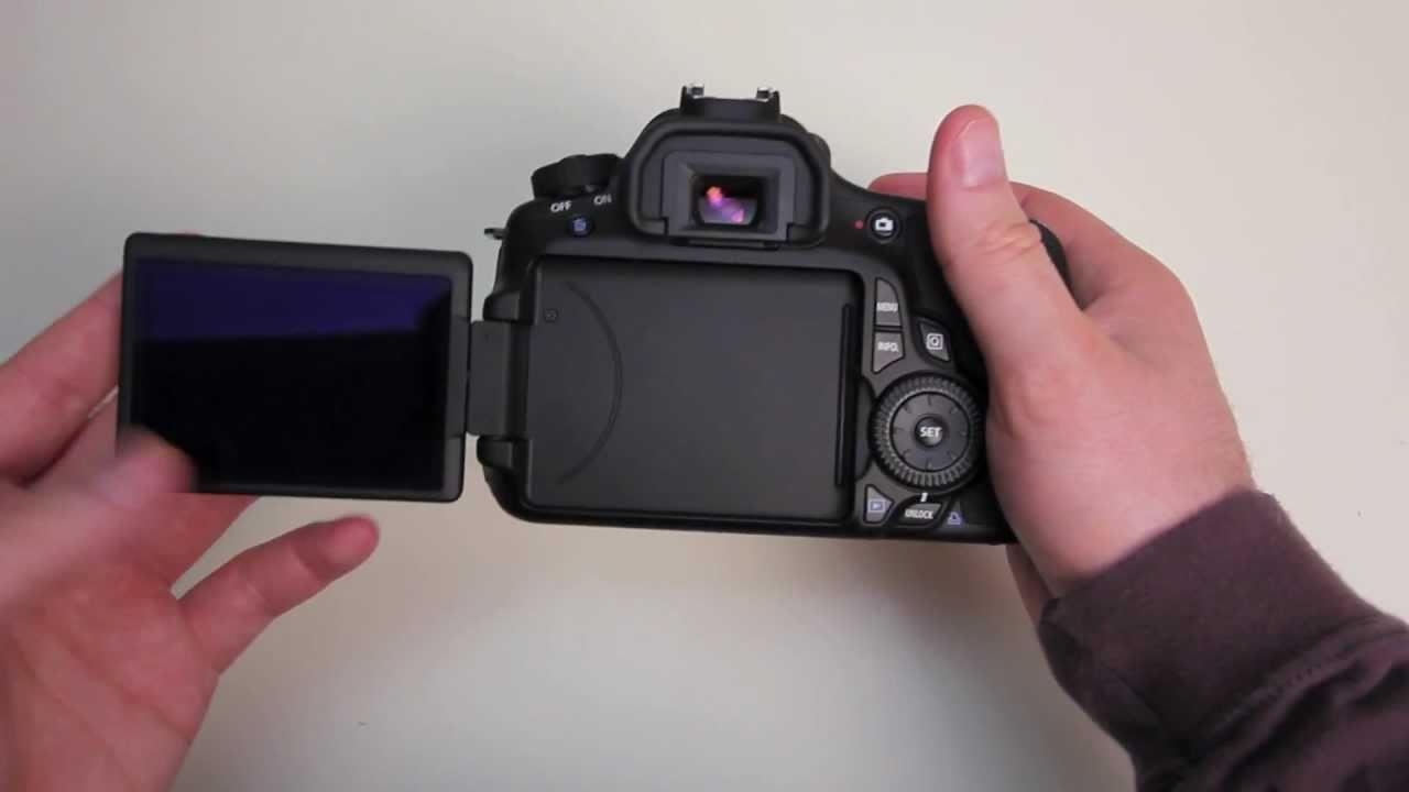 Canon 60D Unboxing - YouTube