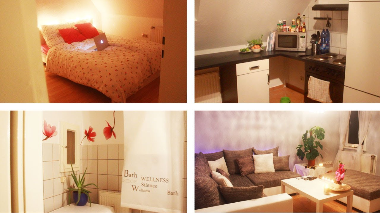 SO lebe ich. :-) | Wohnungstour - YouTube