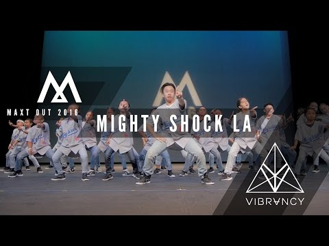 Mighty Shock LA   Maxt Out 2016 [@VIBRVNCY 4K Front Row]