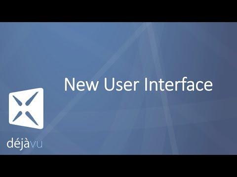 Déjà Vu X3 - New User Interface