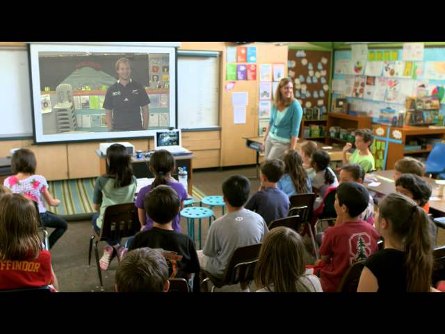 Skype in the Classroom brings together classes in New Zealand and California