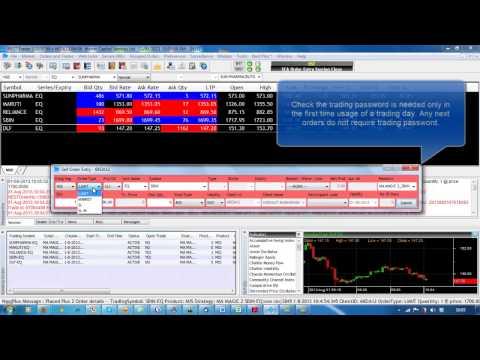 Algo Trading In NSE / MCX