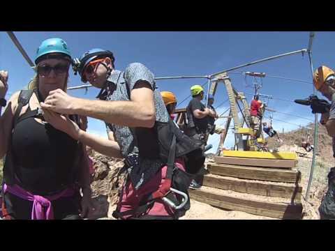 Bootleg Canyon Zipline Unedited
