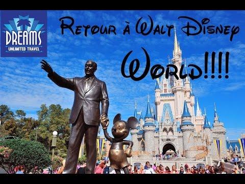 Partir à Walt Disney World avec Dreams Unlimited Travel