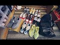 PACKING SNEAKERS FOR MY TRIP! (HYPEBEAST HEAT)