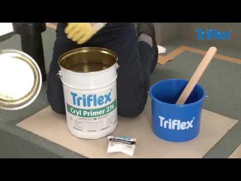 How to mix Triflex PMMA resins