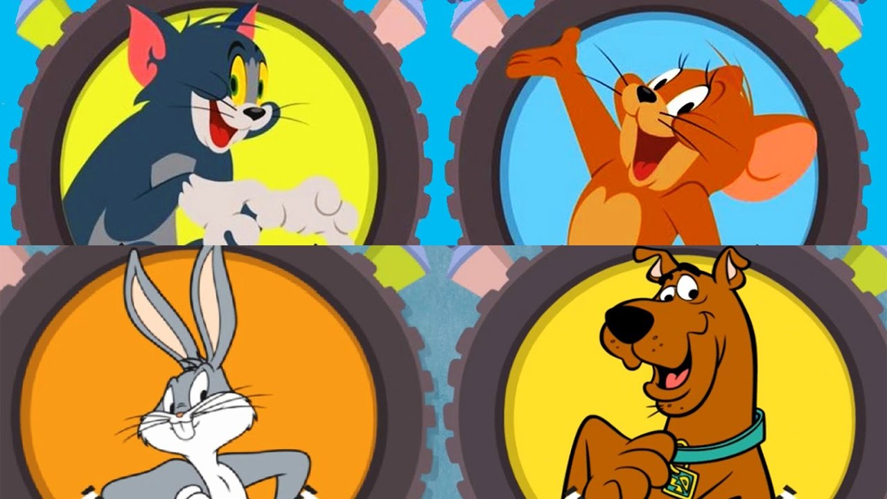 Tom and jerry vs scooby doo and bugs bunny boomerang make - Race de scooby doo ...