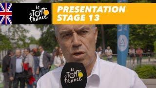 Tour de France 2018: Parcours etappe 13
