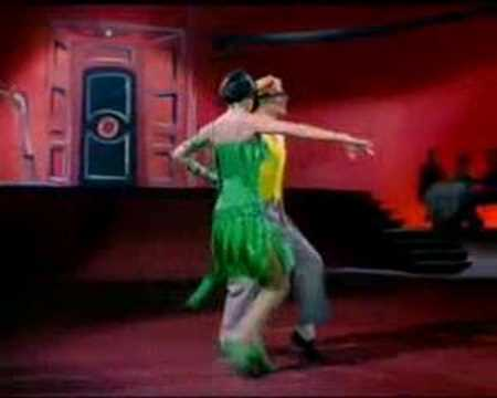 Gene Kelly & Cyd Charisse  from singin' in the rain