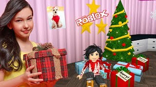 Roblox - DECORANDO MINHA CASINHA PARA O NATAL (Welcome to Bloxburg) | Luluca Games