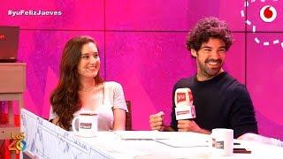 Victoria Martín (Chica Fitness) le declara su amor a Miguel Ángel Muñoz #yuFelizJueves