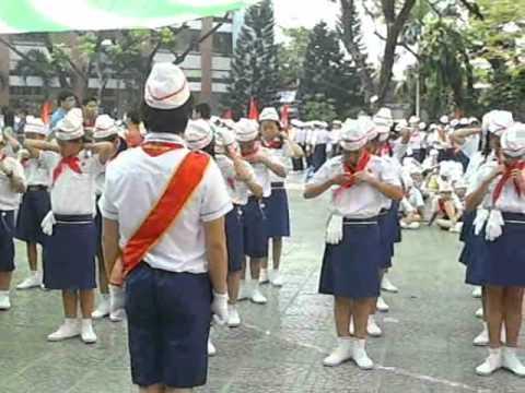 Hội thi nghi thức cấp quận 2010-2011 - Trường THCS Đặng Trần Côn